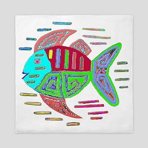 FISH MOLA DESIGN Queen Duvet