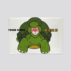 Hungry Tortoise Rectangle Magnet