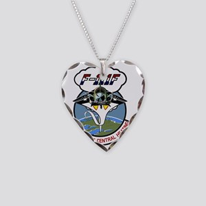 F-111F - Warsaw Pact Central  Necklace Heart Charm