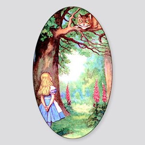 ALICE_12_10x14 Sticker (Oval)