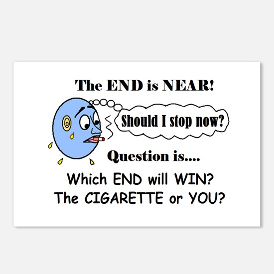 LIFE AT THE END OF A CIGARETTE? Postcards (Package