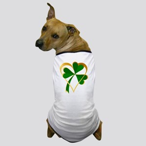 My Heart with St Patricks Dog T-Shirt