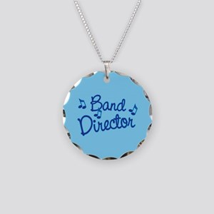 Band Director Necklace Circle Charm