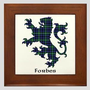 Lion - Forbes Framed Tile