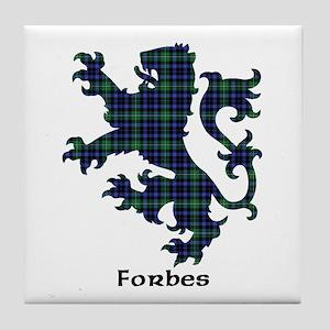Lion - Forbes Tile Coaster