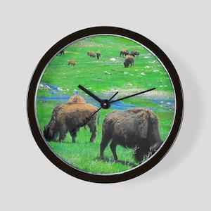 Buffalo 19X16 Wall Clock