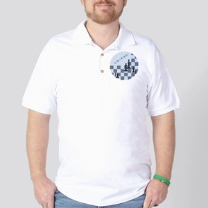 Chess King and Pieces Golf Shirt