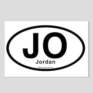 JO - Jordan oval Postcards (Package of 8)