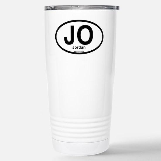 JO - Jordan oval Stainless Steel Travel Mug
