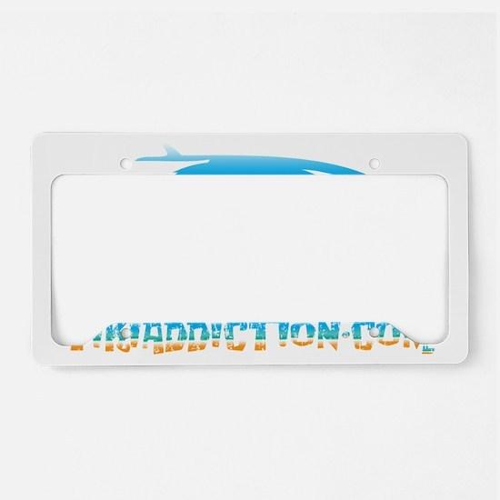 SURF BUG - PARADISE License Plate Holder