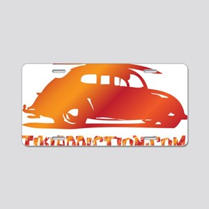 SURF BUG - VOLCANO Aluminum License Plate