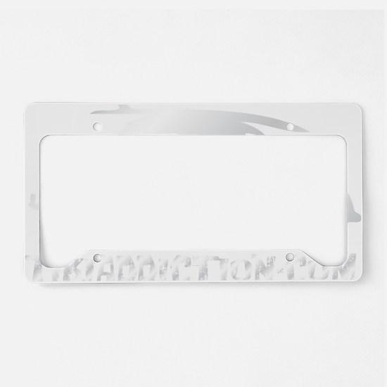SURF BUG - COCONUT License Plate Holder