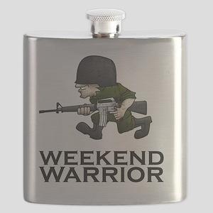 Weekend Warrior II - Military/Airsoft / Pain Flask