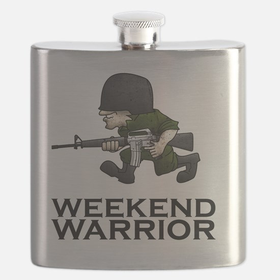 Weekend Warrior II - Military/Airsoft / Pain Flask
