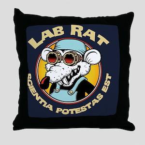 lab-rat2-CRD Throw Pillow