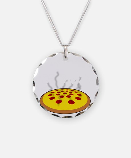 Work For Pizza Necklace