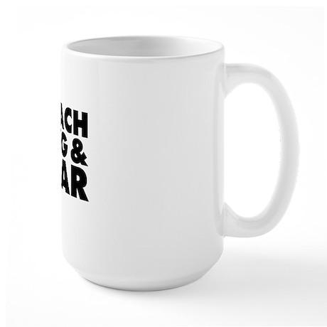 Breach Bang Clear - Military Large Mug