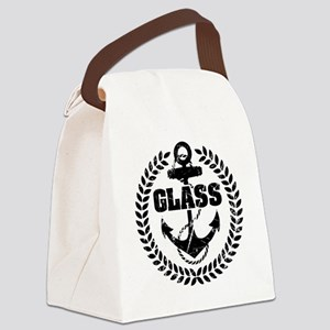 logo 04 black Canvas Lunch Bag