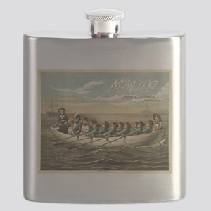 HMS Pinafore - Forbes Co - 1879 Flask