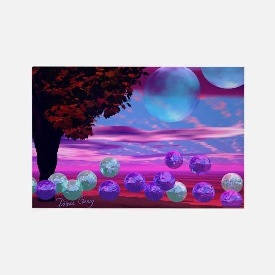 Bubble Garden Gel Mousepad-1762wx Rectangle Magnet
