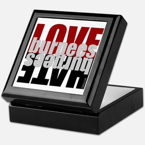 Love Hate Burpees Keepsake Box