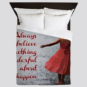 Always Believe Queen Duvet