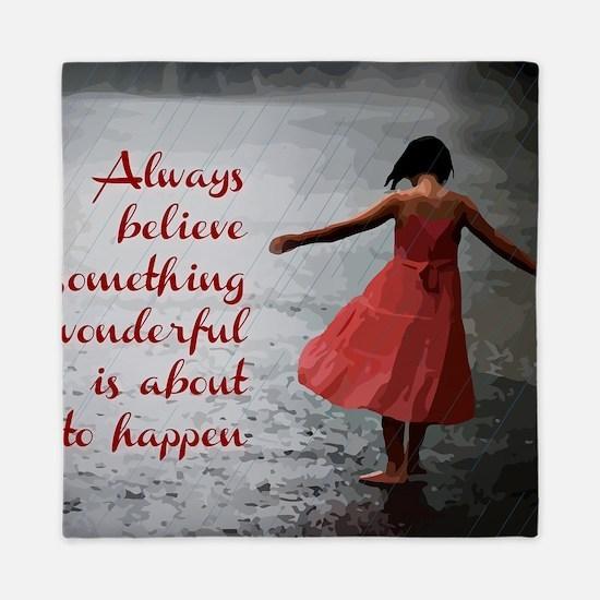 Always Believe Queen Duvet
