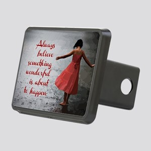 Always Believe Rectangular Hitch Cover