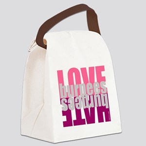 Love Hate Burpees Canvas Lunch Bag