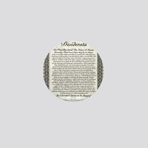 The Desiderata Poem by Max Ehrmann Mini Button