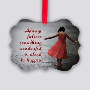 Always Believe Picture Ornament