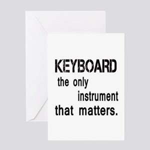 Keyboard the only instruments that Greeting Card