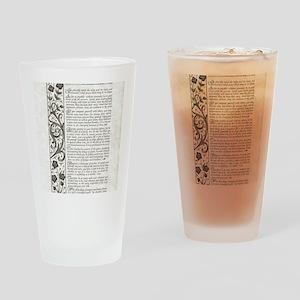 The Desiderata Poem by Max Ehrmann Drinking Glass