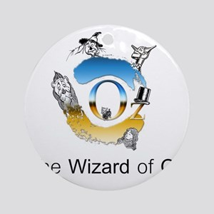 The Wizard of Oz Round Ornament