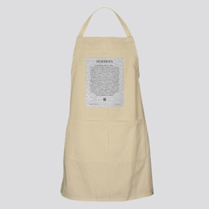 The Desiderata Poem by Max Ehrmann Apron