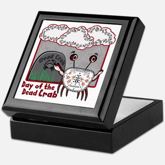 Day of the Dead Crab Keepsake Box