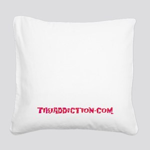 SHAKE THE SAND - BLACK Square Canvas Pillow