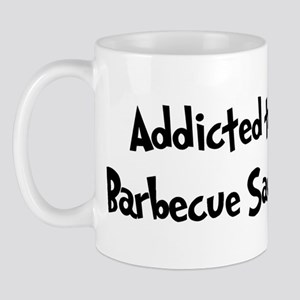 Addicted to Barbecue Sauce Mug