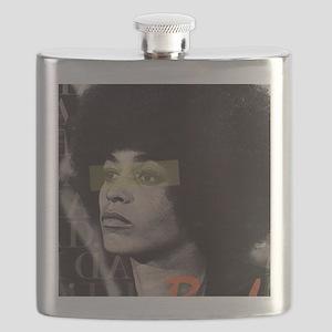 Angela Davis Flask