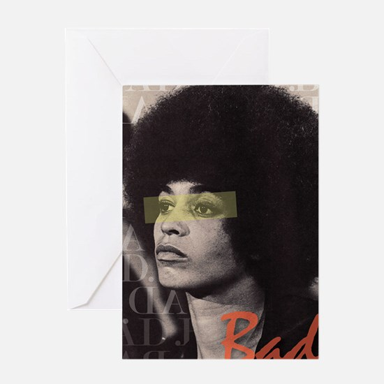 Angela Davis Greeting Card