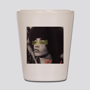Angela Davis Shot Glass