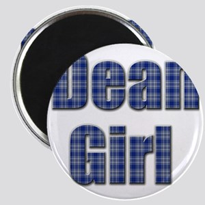 Dean Girl (blue plaid) Magnet
