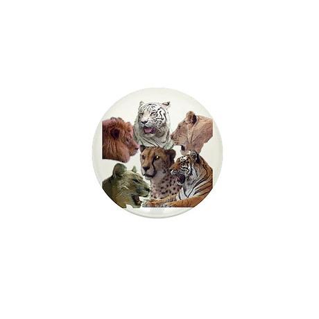 big cats Mini Button (100 pack)
