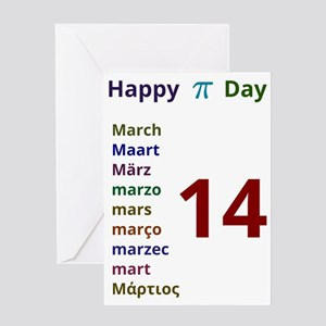 Happy Pi Day Greeting Card