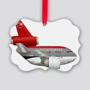 northwest airlines DC 10  Picture Ornament