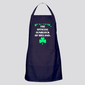Pubs. Official Sunblock of Ireland Apron (dark)