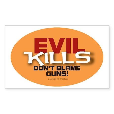 Pro Gun Ownership Sticker Sticker (Rectangle)