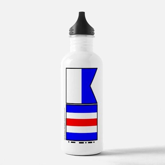 Alpha Charlie - Abando Sports Water Bottle