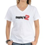 Shopping for Two Women's V-Neck T-Shirt