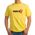 Shopping for Two Yellow T-Shirt
